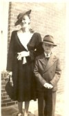 With his mother Mattie (Littlefield) Foster - 1942