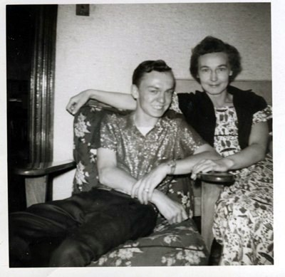 June 1959, Howard at 19 with his Mother