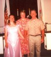 Bill, Holly and Pastor Sue Seldon