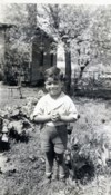 Little Denny, in Mackinac, 1940
