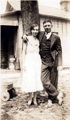 Ethel Gardener Fowble and Gilbert Everett Fowble