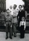 The Confer family in Germany circa 1954